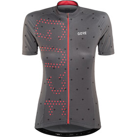 GORE WEAR C3 Brand Maillot Mujer, terra grey/hibiscus pink